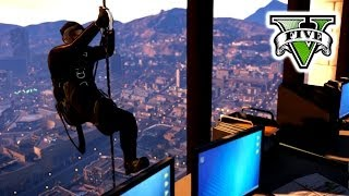 getlinkyoutube.com-GTA 5 BIG BaNK Job Live Stream - GTA V Trevor VS Michael Campaign -  Grand Theft Auto 5