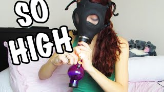 TOO MANY GAS MASK BONG RIPS