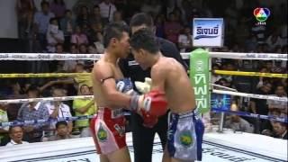 getlinkyoutube.com-Muay Thai Boxing from Bangkok, Thailand - 2014.03.02 Channel 7 Stadium