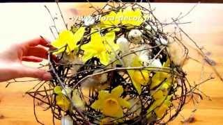 getlinkyoutube.com-Jak zrobić bukiet z kwiatów i kryzę krok po kroku