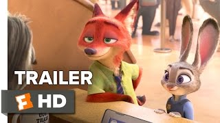 getlinkyoutube.com-Zootopia Official Sloth Trailer (2016) - Disney Animated Movie HD