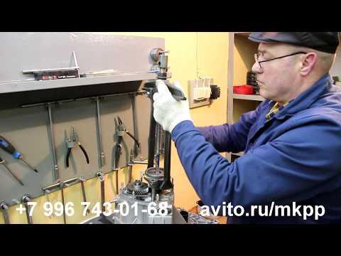 Разборка КПП ВАЗ 21083 и дефектовка вилки 5 передачи. 1 часть.