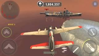 getlinkyoutube.com-[GUNSHIP BATTLE] NEW B-17G FLYING FORTRESS (RAID) 1080p