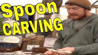 getlinkyoutube.com-Ben Orford Spoon Carving Technique Demo