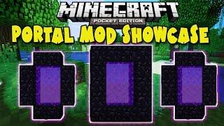 getlinkyoutube.com-[0.10.4] Portal MOD! - Minecraft Pocket Edition