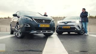 ANWB Dubbeltest Peugeot 3008 vs. Toyota C-HR 2016 ENGLISH SUBTITLES!