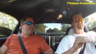 getlinkyoutube.com-Twin Turbo Saleen Mustang 1000+ rwhp TTSaleen Ride Along Part 2