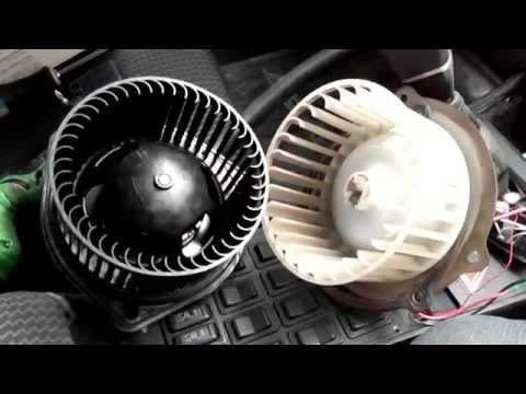Электро мотор отопителя печки