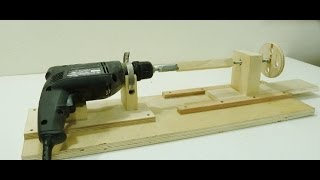 getlinkyoutube.com-How to make a Mini Lathe
