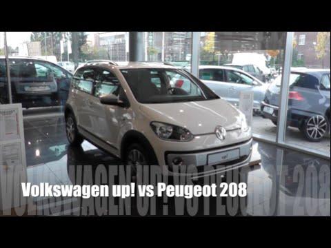 Volkswagen up! 2014 vs Peugeot 208 2014