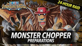 getlinkyoutube.com-One Piece Treasure Cruise: MONSTER CHOPPER Preparation!!! How to beat MONSTER CHOPPER!