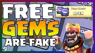 getlinkyoutube.com-How To Get FREE GEMS AND SUPER MAGICAL CHESTS IN Clash Royale THE TRUTH BEHIND 'NO HACK' FREE GEMS