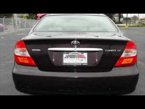 toyota camry altise 2003 service manual