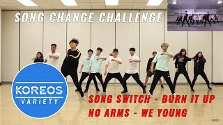 [Koreos Variety] S2 EP14 - Song Switch: WANNAONE Burn It Up + No Arms: NCT DREAM We Young