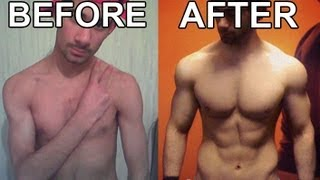 getlinkyoutube.com-2 Years Body Transformation - Skinny To Muscular (Ectomorph STEROID FREE)