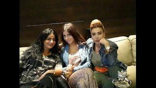 getlinkyoutube.com-صورة الفنانه نوال الزغبي مع صديقاتها  يدخنون الشيشه تثير موجه انتقادات حاده