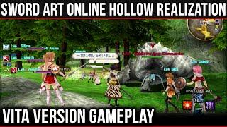 getlinkyoutube.com-Sword Art Online: Hollow Realization - Vita Gameplay & Overview