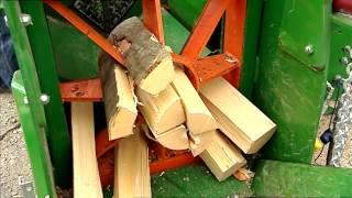 getlinkyoutube.com-Posch Spaltfix S-320 firewood processor