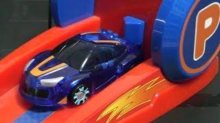 getlinkyoutube.com-터닝메카드 장난감 슈팅카 놀이 Turning Mecard Shooting Cars Play Toys