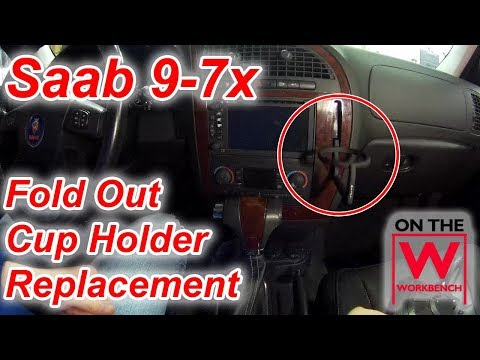 Saab 9-7x Cup Holder Replacement