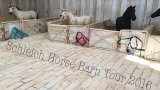 getlinkyoutube.com-Schleich Horse Barn Tour 2016