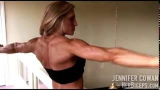 getlinkyoutube.com-Super Hard Muscle Girl