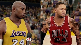 NBA 2K16 PS4 MyCAREER - CLUTCH GENE GETS TESTED vs KOBE BRYANT and LAKERS!! Ep. 33