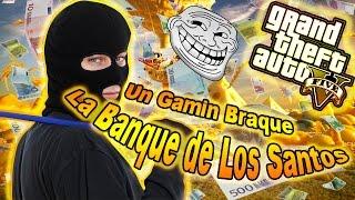 getlinkyoutube.com-GTA5 - TROLL MOD MENU - UN GAMIN BRAQUE LA BANQUE DE LOS SANTOS