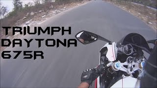 "getlinkyoutube.com-2015 Daytona 675R w/Arrow Short Ride/MotoVlogger ""Sir""?"