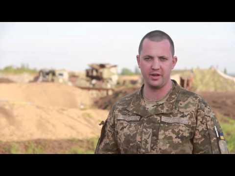 Штаб АТО: Под Марьинкой снайпер террористов обстрелял опорник ВСУ.