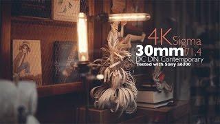 getlinkyoutube.com-Sigma 30mm f/1.4 DC DN Contemporary Lens 4K Video Test (Shot it with a6300)
