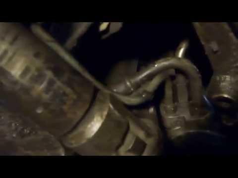 Ремонт всего' Снятие рулевой рейки с ГУР рено 19
