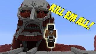 getlinkyoutube.com-Attack on Titan Minecraft Mod
