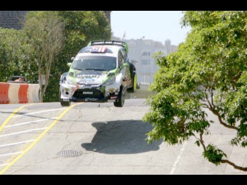 Ken Block Gymkhana Car Build & Drive - DC Shoes, Monster World Rally