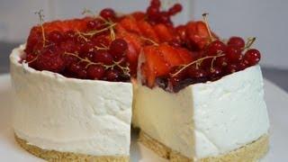 getlinkyoutube.com-Recette du Cheesecake facile sans cuisson vanille et fruits rouges