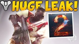 DESTINY 2 LEAKED! New Weapons, Public Beta, Release Date & Playstation Exclusives