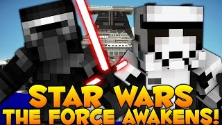 getlinkyoutube.com-Minecraft Star Wars The Force Awakens Minigame (Galaxy Wars)