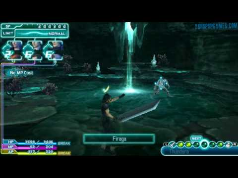 Crisis Core: FFVII - PSP - Part 50: Depths Of Judgement, Howling F. Lake Of O. Portal Of Sev. [3/3]