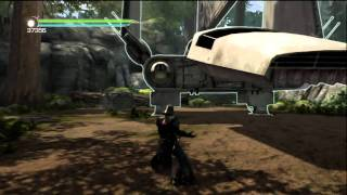getlinkyoutube.com-Star Wars: The Force Unleashed II -  Starkiller's Dark Lord Armor Game Play