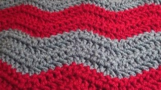 getlinkyoutube.com-Soft Crochet Chevron Blanket - Crochet Chevron Blanket in Any Size