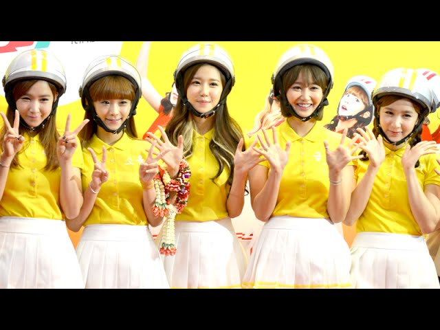 Press Con Crayon Pop Live in Bangkok