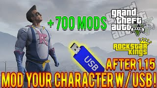 getlinkyoutube.com-GTA 5 Mods How To Mod Your Character USB Only Tutorial! Play As Chop, Impotent Rage, 700+ More!