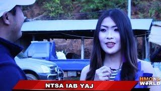 getlinkyoutube.com-HMONGWORLD: NTSA IAB YAJ, Hmong Singer/Actress from Laos - Interview  @ Phu Chi Fa, Thailand