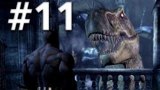 getlinkyoutube.com-Road To Arkham Knight - Batman Arkham City - Walkthrough - Part 11 - Dinosaur Museum