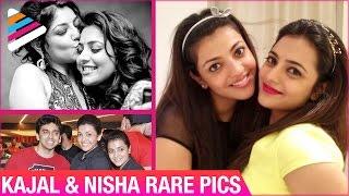 getlinkyoutube.com-Kajal Aggarwal & Nisha Aggarwal Rare Pics | Unseen Pics | Telugu Filmnagar