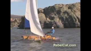 getlinkyoutube.com-Why Make A RebelCat PVC Pipe Catamaran Sailboat?