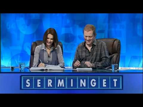 Are these the rudest Countdown letters ever? Minge, semen and mingers