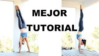 getlinkyoutube.com-Parada de manos paso a paso - handstand tutorial - 100% éxito