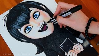 getlinkyoutube.com-HOTEL TRANSYLVANIA 2 Drawing MAVIS