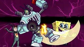 getlinkyoutube.com-Super Brawl 3: GOOD Vs. Evil (Plankton) - Nickelodeon Games